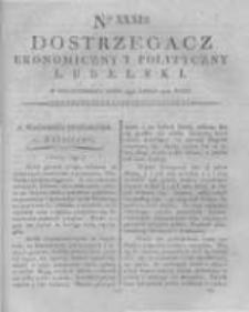 Dostrzegacz Ekonomiczny i Polityczny Lubelski. 1816.07.15 Nr31