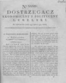 Dostrzegacz Ekonomiczny i Polityczny Lubelski. 1816.07.18 Nr32