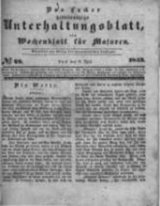 Das Lycker gemeinnützige Unterhaltungsblatt, ein Wochenblatt für Masuren. 1843.07.08 Nr28