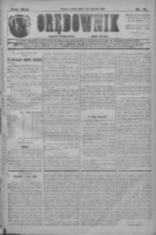 Orędownik: najstarsze ludowe pismo narodowe i katolickie w Wielkopolsce 1912.01.27 R.42 Nr21