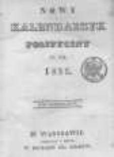 Nowy Kalendarzyk Polityczny na Rok 1835