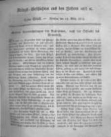 Kriegs-Geschichten aus den Jahren 1812/13 etc. oder Darstellungen und Schilderungen aus den Feldzügen der Franzosen und der verbündeten Truppen... . 1815 Band 3 stück 63