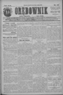 Orędownik: najstarsze ludowe pismo narodowe i katolickie w Wielkopolsce 1912.03.21 R.42 Nr66