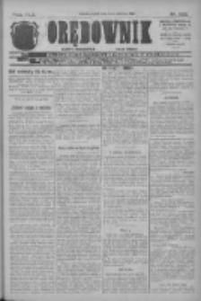 Orędownik: najstarsze ludowe pismo narodowe i katolickie w Wielkopolsce 1912.06.14 R.42 Nr133