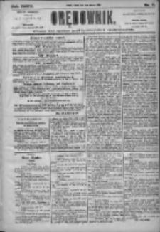 Orędownik: pismo dla spraw politycznych i społecznych 1905.01.03 R.35 Nr2