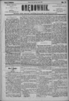 Orędownik: pismo dla spraw politycznych i społecznych 1905.01.04 R.35 Nr3