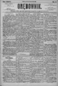 Orędownik: pismo dla spraw politycznych i społecznych 1905.01.05 R.35 Nr4