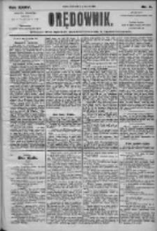 Orędownik: pismo dla spraw politycznych i społecznych 1905.01.11 R.35 Nr8