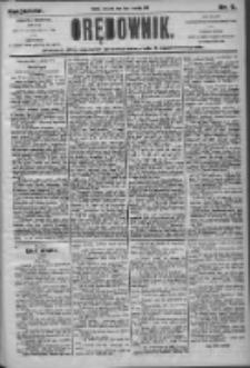 Orędownik: pismo dla spraw politycznych i społecznych 1905.01.12 R.35 Nr9