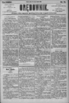 Orędownik: pismo dla spraw politycznych i społecznych 1905.01.13 R.35 Nr10