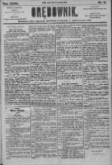 Orędownik: pismo dla spraw politycznych i społecznych 1905.01.14 R.35 Nr11