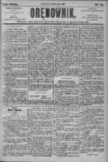 Orędownik: pismo dla spraw politycznych i społecznych 1905.01.18 R.35 Nr14