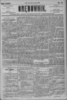 Orędownik: pismo dla spraw politycznych i społecznych 1905.01.21 R.35 Nr17