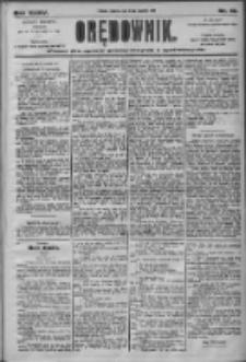 Orędownik: pismo dla spraw politycznych i społecznych 1905.01.22 R.35 Nr18