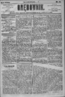 Orędownik: pismo dla spraw politycznych i społecznych 1905.01.26 R.35 Nr21