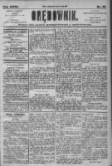 Orędownik: pismo dla spraw politycznych i społecznych 1905.01.28 R.35 Nr23