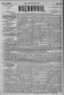 Orędownik: pismo dla spraw politycznych i społecznych 1905.01.29 R.35 Nr24
