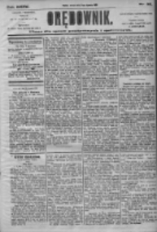 Orędownik: pismo dla spraw politycznych i społecznych 1905.01.31 R.35 Nr25