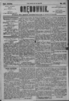 Orędownik: pismo dla spraw politycznych i społecznych 1905.02.02 R.35 Nr27