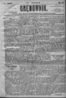 Orędownik: pismo dla spraw politycznych i społecznych 1905.02.10 R.35 Nr33