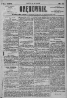Orędownik: pismo dla spraw politycznych i społecznych 1905.02.15 R.35 Nr37
