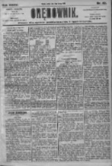 Orędownik: pismo dla spraw politycznych i społecznych 1905.02.18 R.35 Nr40