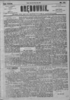 Orędownik: pismo dla spraw politycznych i społecznych 1905.02.22 R.35 Nr43
