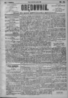 Orędownik: pismo dla spraw politycznych i społecznych 1905.03.01 R.35 Nr49