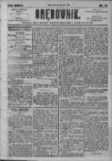 Orędownik: pismo dla spraw politycznych i społecznych 1905.03.03 R.35 Nr51
