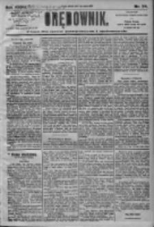 Orędownik: pismo dla spraw politycznych i społecznych 1905.03.07 R.35 Nr54