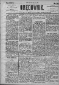 Orędownik: pismo dla spraw politycznych i społecznych 1905.03.14 R.35 Nr60