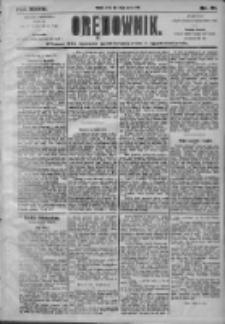 Orędownik: pismo dla spraw politycznych i społecznych 1905.03.15 R.35 Nr61