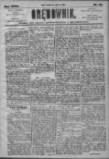Orędownik: pismo dla spraw politycznych i społecznych 1905.03.16 R.35 Nr62