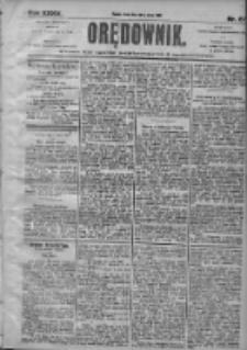 Orędownik: pismo dla spraw politycznych i społecznych 1905.03.22 R.35 Nr67