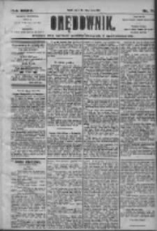 Orędownik: pismo dla spraw politycznych i społecznych 1905.03.28 R.35 Nr71