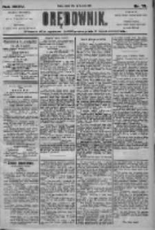 Orędownik: pismo dla spraw politycznych i społecznych 1905.04.01 R.35 Nr75