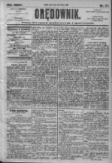 Orędownik: pismo dla spraw politycznych i społecznych 1905.04.04 R.77 Nr77