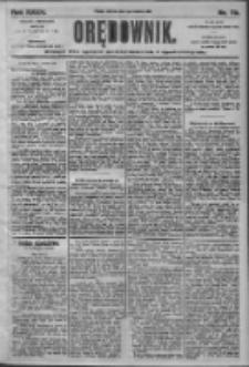 Orędownik: pismo dla spraw politycznych i społecznych 1905.04.06 R.35 Nr79