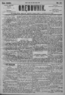 Orędownik: pismo dla spraw politycznych i społecznych 1905.04.15 R.35 Nr87
