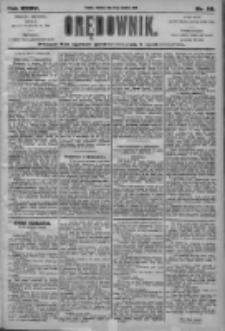 Orędownik: pismo dla spraw politycznych i społecznych 1905.04.16 R.35 Nr88