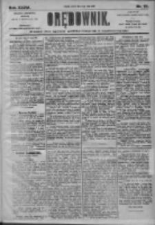 Orędownik: pismo dla spraw politycznych i społecznych 1905.05.16 R.35 Nr111
