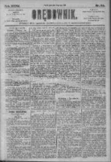 Orędownik: pismo dla spraw politycznych i społecznych 1905.05.19 R.35 Nr114