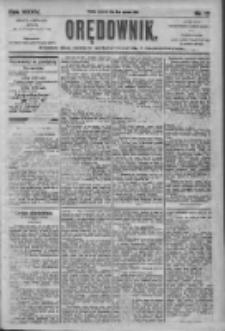 Orędownik: pismo dla spraw politycznych i społecznych 1905.06.08 R.35 Nr130