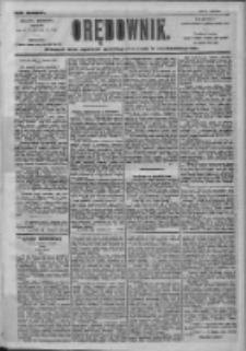 Orędownik: pismo dla spraw politycznych i społecznych 1905.06.18 R.35 Nr138