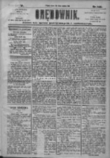 Orędownik: pismo dla spraw politycznych i społecznych 1905.06.20 R.35 Nr139