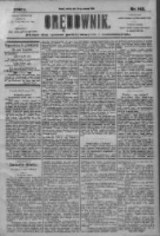 Orędownik: pismo dla spraw politycznych i społecznych 1905.06.24 R.35 Nr142
