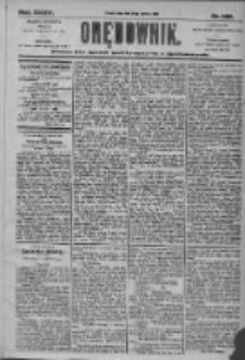 Orędownik: pismo dla spraw politycznych i społecznych 1905.06.28 R.35 Nr145