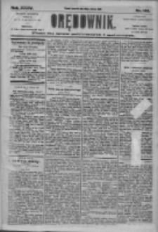 Orędownik: pismo dla spraw politycznych i społecznych 1905.06.29 R.35 Nr146