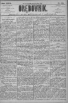 Orędownik: pismo dla spraw politycznych i społecznych 1906.07.08 R.36 Nr153