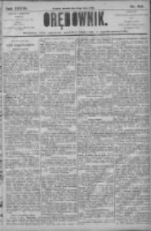 Orędownik: pismo dla spraw politycznych i społecznych 1906.07.10 R.36 Nr154